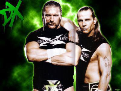 triple h et shawn micheals