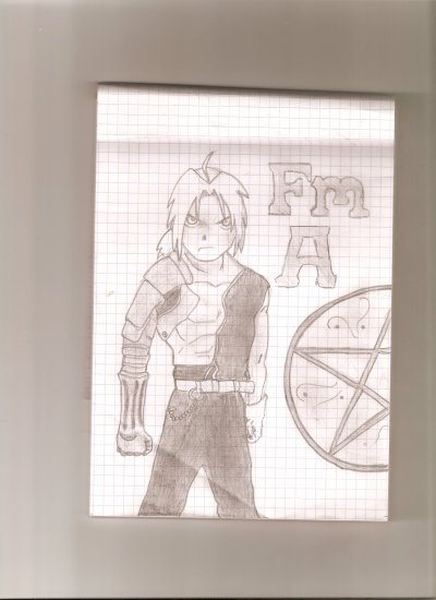 [Full Metal Alchemist] Edward Elric.