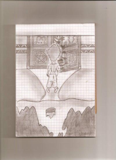 Mélange, scénario de Full Métal avec le personnage de Bleach.
