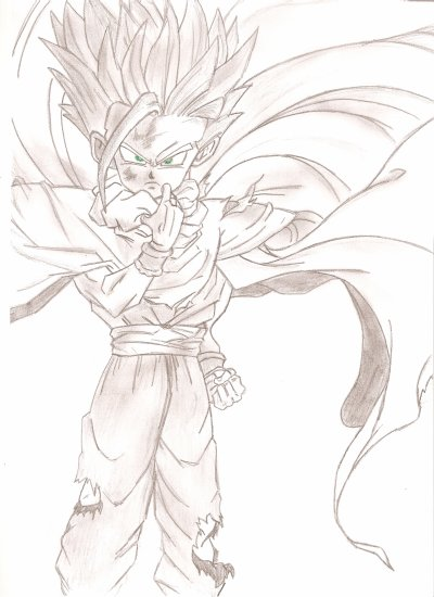 Dragon Ball Z Sangohan Super Sayen Ii Blog De Jeydrawing 25x