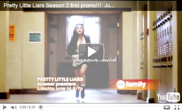 PREMIÈRE VIDÉO PROMOTIONNELLE POUR LA SAISON 2 DE « PRETTY LITTLE LIARS ».J'aime beaucoup la vidéo promotionnelle, j'ai vraiment hâte de voir la saison 2 et de voir la suite des évènements! Alors?