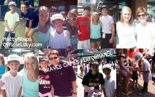 Performances: Braves Games + Wild Summer Bash