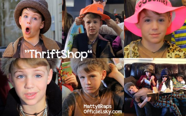 Cover: Thrift Shop by MattyB