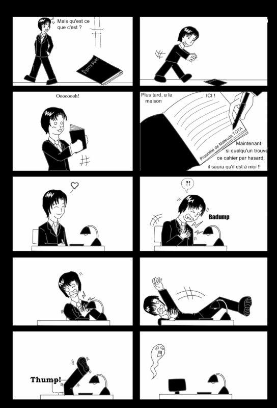 Ma première fiche : Death Note part. 3