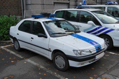 peugeot 306 berline belgian police vehicles. Black Bedroom Furniture Sets. Home Design Ideas