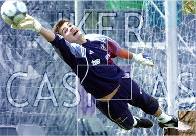 Cassillase Le gardien de but Principal ~ Du Real Madrid