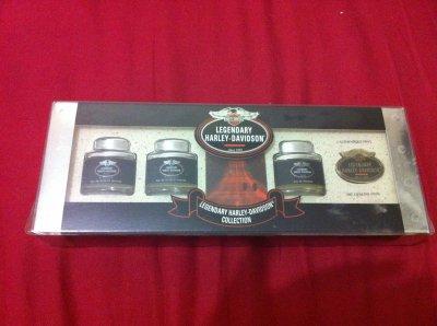 Coffret Legendary Harley Davidson Miniatures De Parfums