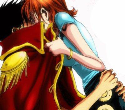 Luffy & Nami ( One Piece )