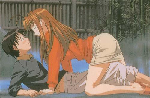 Keitaro & Naru ( Love Hina )
