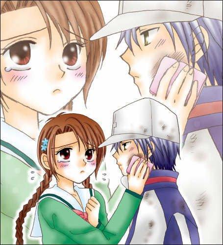 Ryoma & Sakuno ( Prince of Tennis )