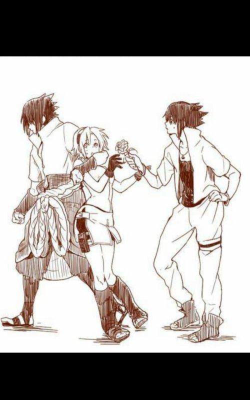 Sasuke & Sakura !