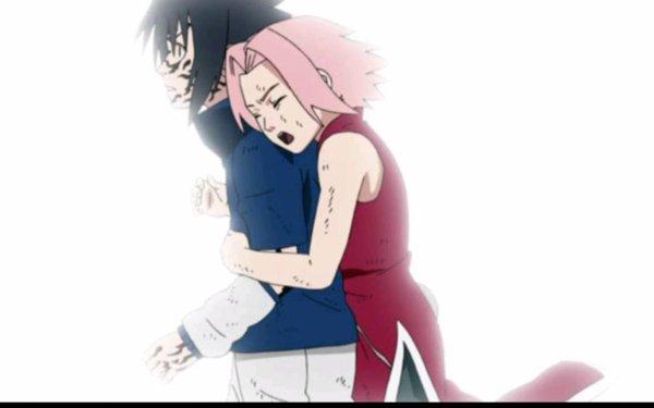 Sasuke & Sakura...moment magique!!