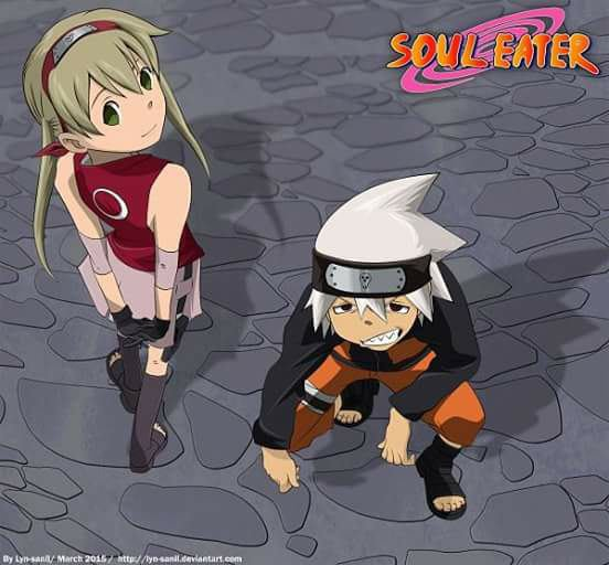 Soul eater version Naruto!