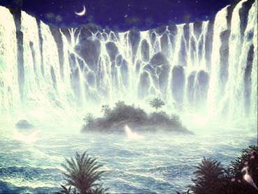La fuite du temps semblable à l'eau qui s'écoule ... infiniment