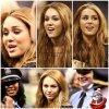 Notre belle Miley Cyrus a etait voir un match le 12 décembre dernier