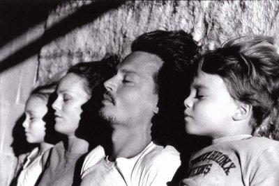 Johnny, Vanessa & leurs bouts de choux...♥
