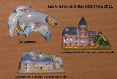 LE CREATEUR ET CERAMISTE GILLES BOUTTAZ   2011
