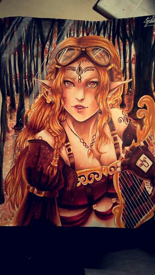 Elfe Dorée