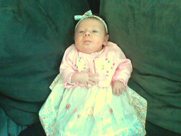 ma fille 3 semaine