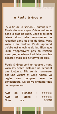 •○•DUO SERIE•○• Physique ou chimie •○• Paula & Greg•○• DECORATION•○•CREATION•○•NEWSLETTER •○•BOUTIQUE •○•