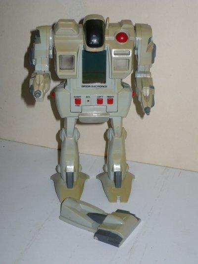 Robot Algas Bandai (1984, LCD, Watch Batteries, Model# 0200252)