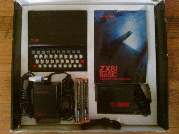 Mon bon vieux ZX81