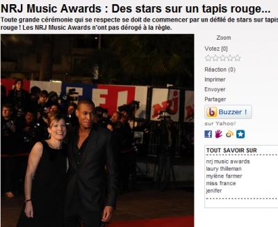 Mais qui accompagnait Amélie et Senna aux NRJ Music Awards ?