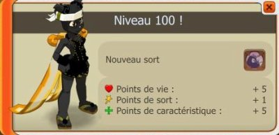 Panda niveau 100.