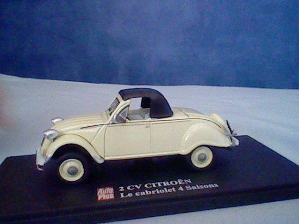 HORS-COLLECTION : Citroën 2CV 4 saisons