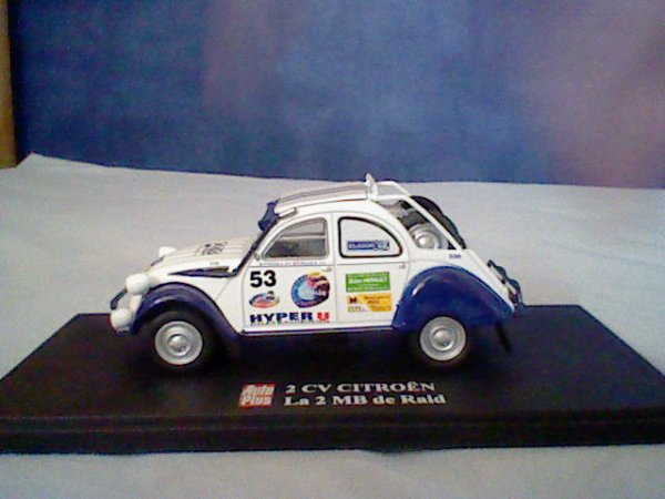HORS-COLLECTION : Citroën 2CV 2MB de Raid