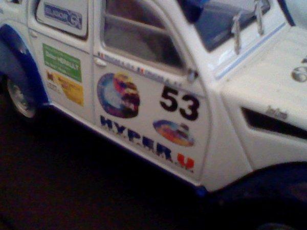 HORS-COLLECTION : Citroën 2CV 2MB de Raid