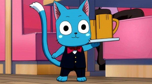 Voila mon personnages préférer de Fairy Tail