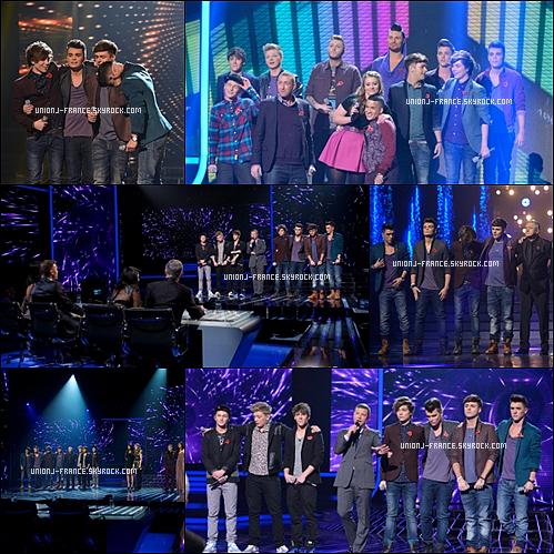 Les garçons en promenade à Buckingham Palace le 9/11 & Les résultats d'X Factor le 11/11.