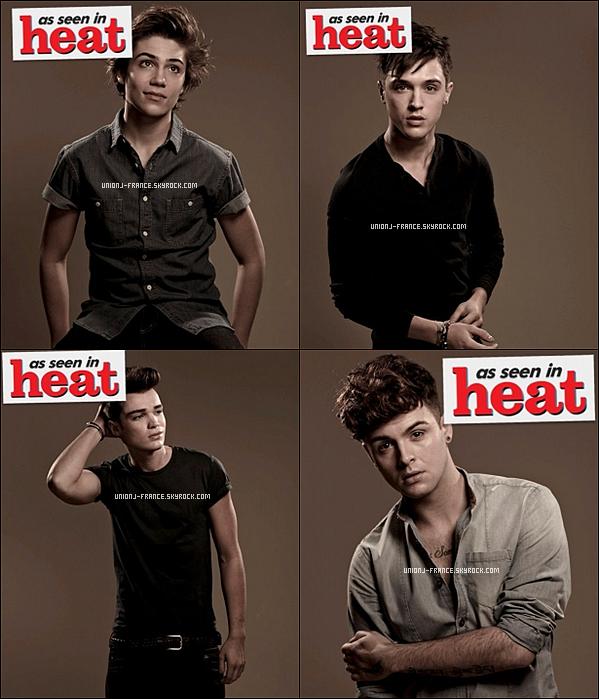 Photoshoots des garçons pour As Seen In Heat, date inconnue.