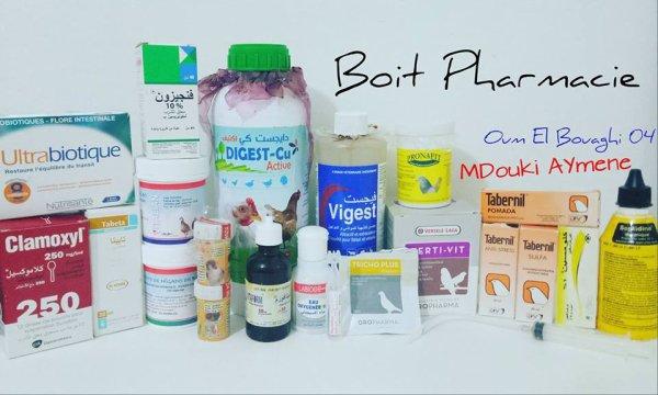 Boite Pharmacie 2017 MA
