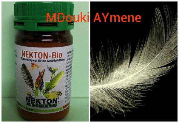 NEKTON-BIO Un très bonne produit pour la mue et un plumage doux et brillant .