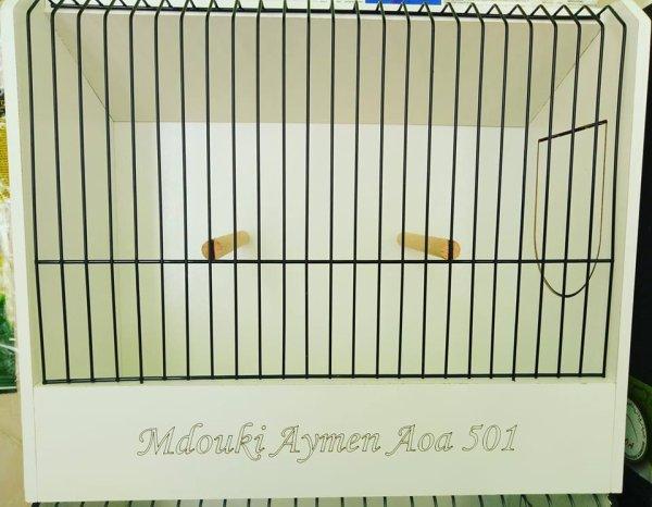 Un très bon travail de mon amie Billel Djemaa une cage d'exposition