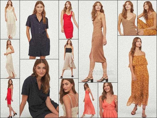- • • Grace Elizabeth pose pour la nouvelle collection de la marque H&M ! -