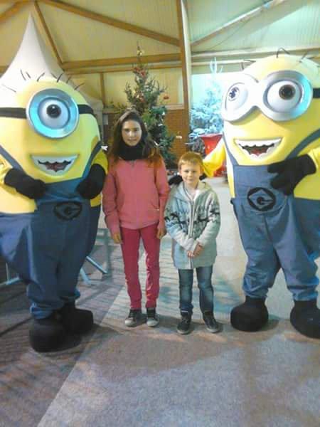 Moi et ma soeur et les minions