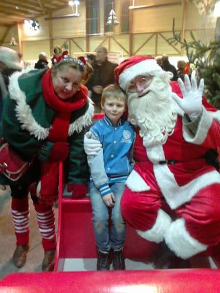 Moi le père Noël et le lutins