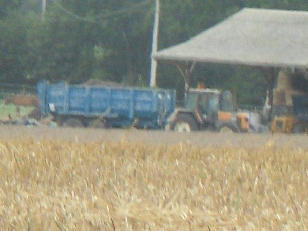 benne roland + tracteur renaud