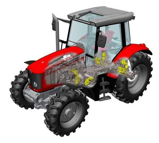 je dissecte un tracteur