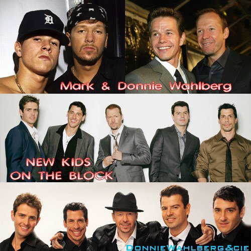 Donnie et Mark Wahlberg