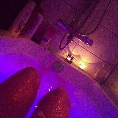 En direct du bain
