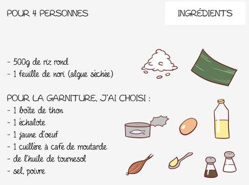 recette des onigiri!