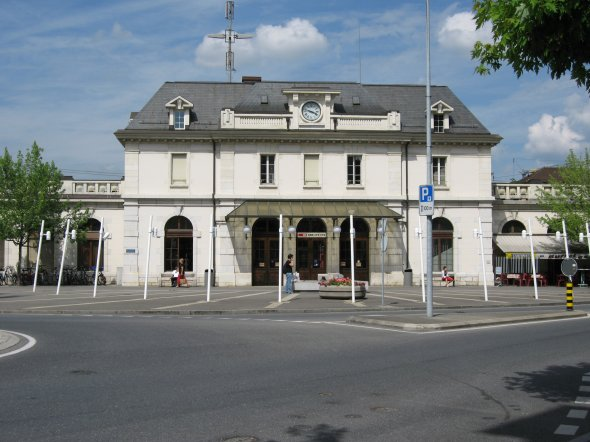 Gare Renens vd suisse
