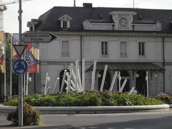 Giratoire Renens vd Suisse