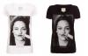T-shirt moustache Bella. 39,00 ¤ pour l'Europe ; £31.30 livres sterling pour l'Angleterre ; $49.67 dollars pour les USA