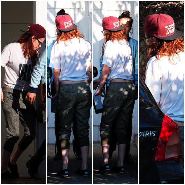 26/02/13 - Kristen à Hollywood.