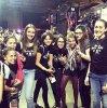 02/03/13 - Kristen au L.A Derby Dolls.